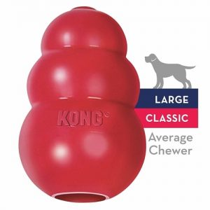 Dog Confinement Anxiety In Dogs - Kong Classic Dog Toy