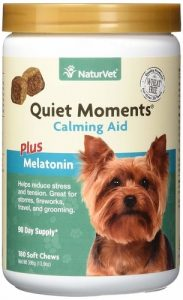Best Anxiety Supplements For Dogs - NaturVet Quiet Moments