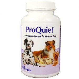 Best Anxiety Supplements For Dogs - ProQuiet Calming Supplement