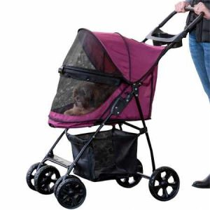 Best Products For Dogs With Anxiety - Pet Gear Happy Trails Pet Stroller