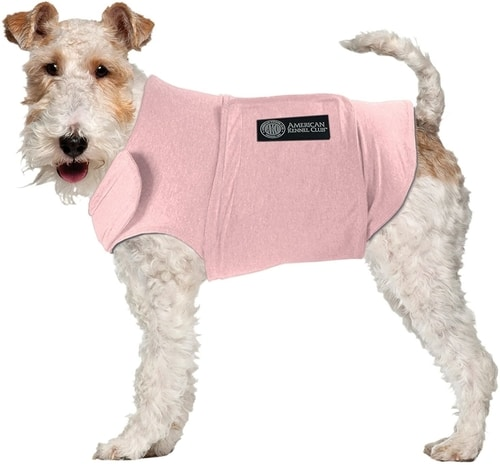 Best Dog Anxiety Vest Reviews - AKC Anti Anxiety and Stress Relief Calming Coat
